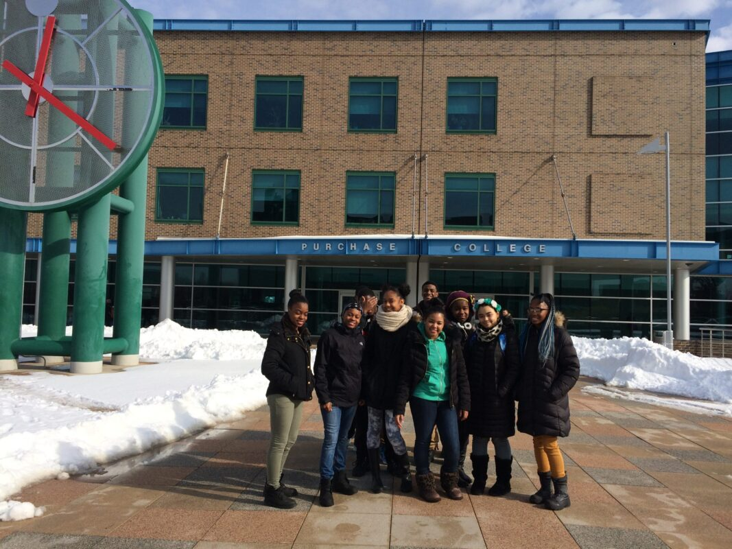 College Prep trip to #SUNY #Purchase for our 10th graders! We even got a special tour from our StreetSquash alumni, Raven, '13 and Kamali, '15! Thanks for a great visit!