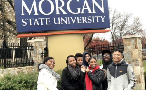 Students Explore East Coast Colleges on Newark's First College Trip of the Year
